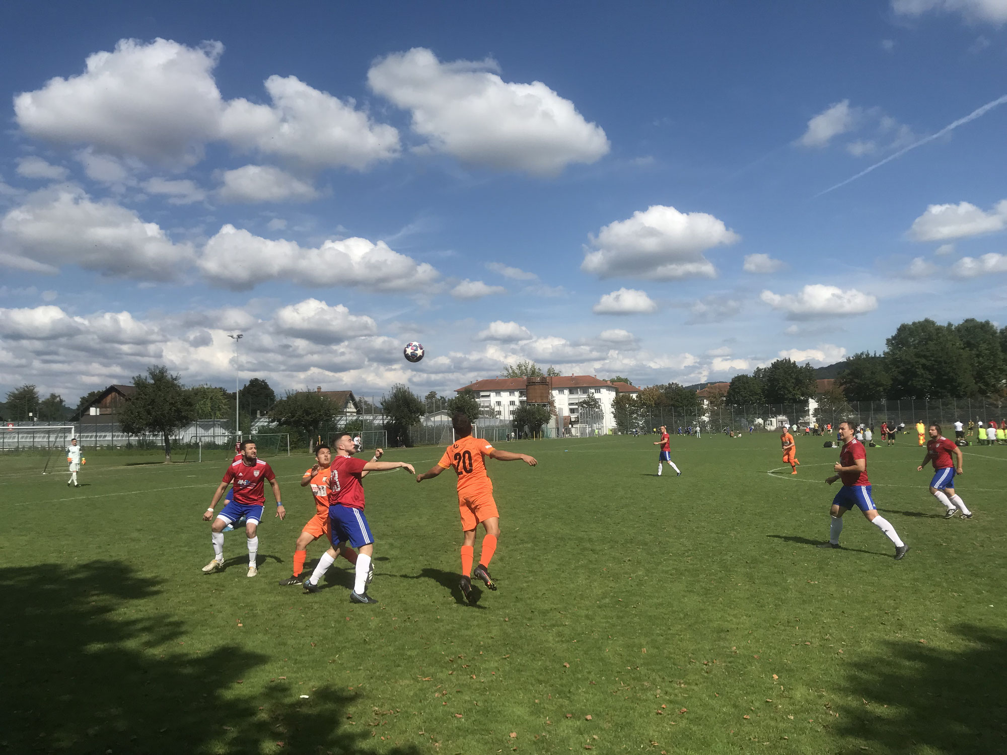 Gilgenberg United im Pech -  Der späte Ausgleich vom FC Srbija 1968 beendet unsere Siegesserie