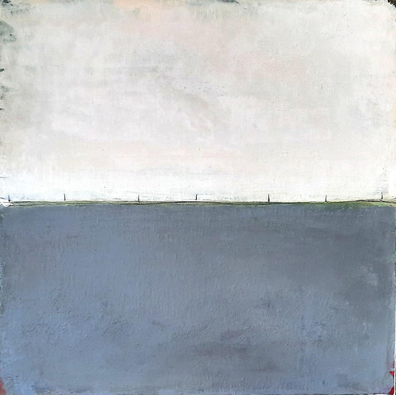 70 x 70 cm Abstrakte Landschaft