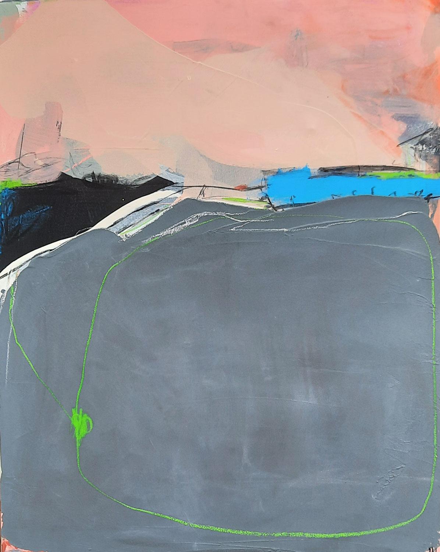 abstraktes Bild 100 x 80 cm