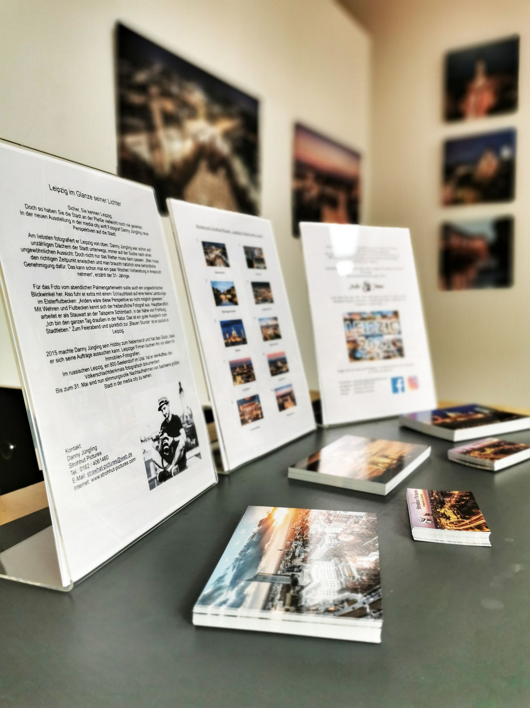 Ausstellung in der media city Leipzig