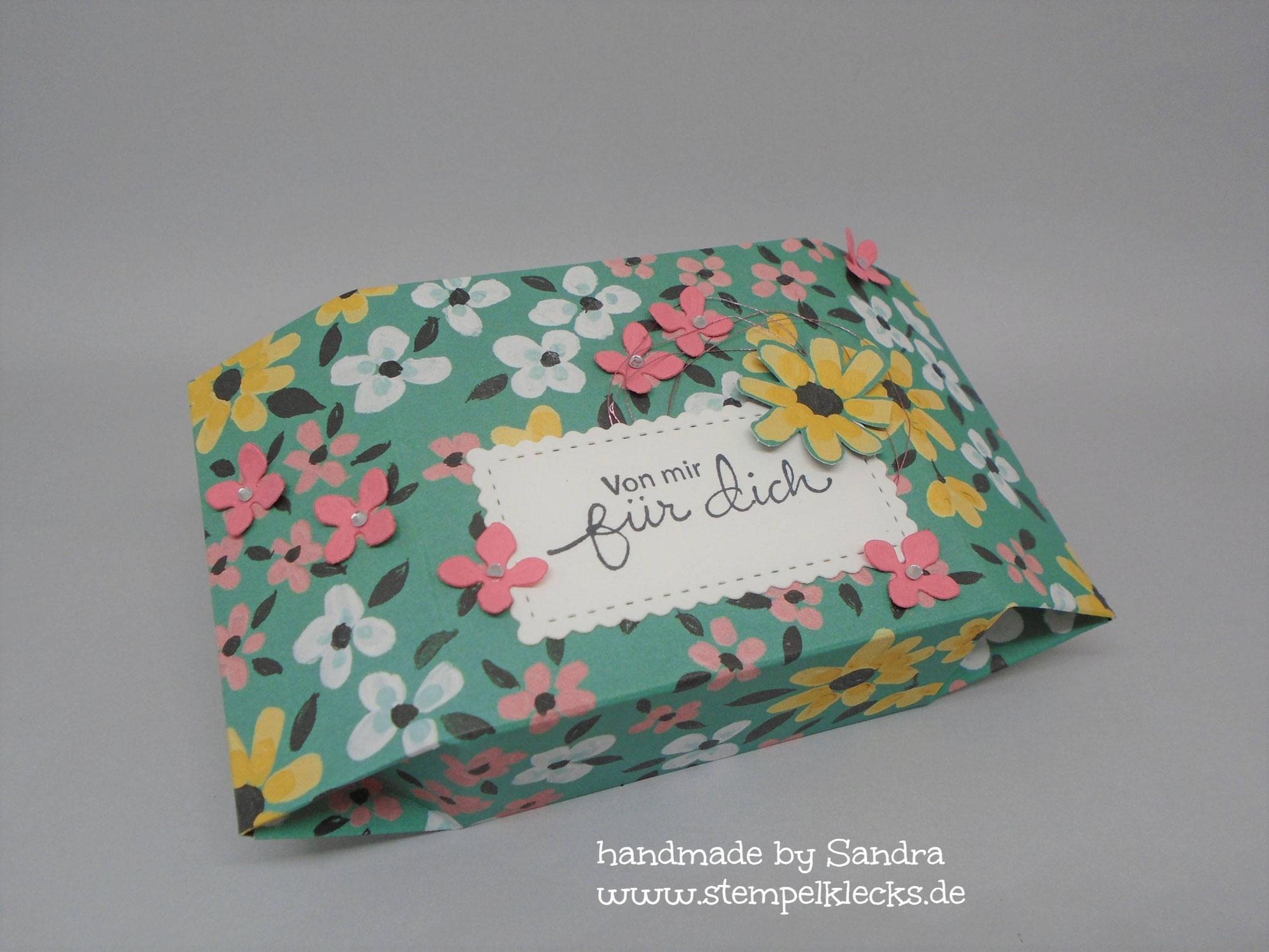Steckschachtel - Wiesenblumen