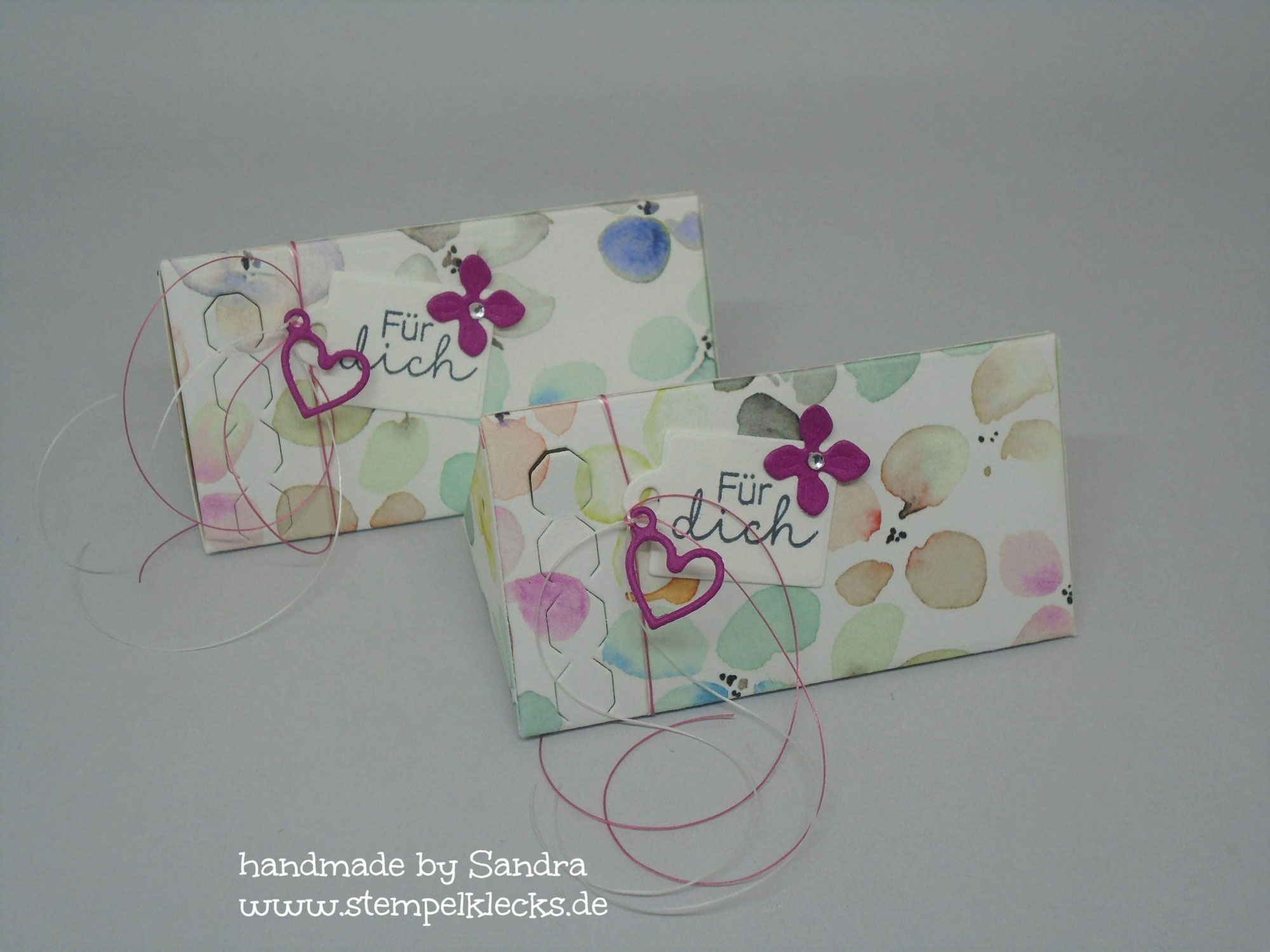 Dreiecksverpackung - Frühlingsblüten