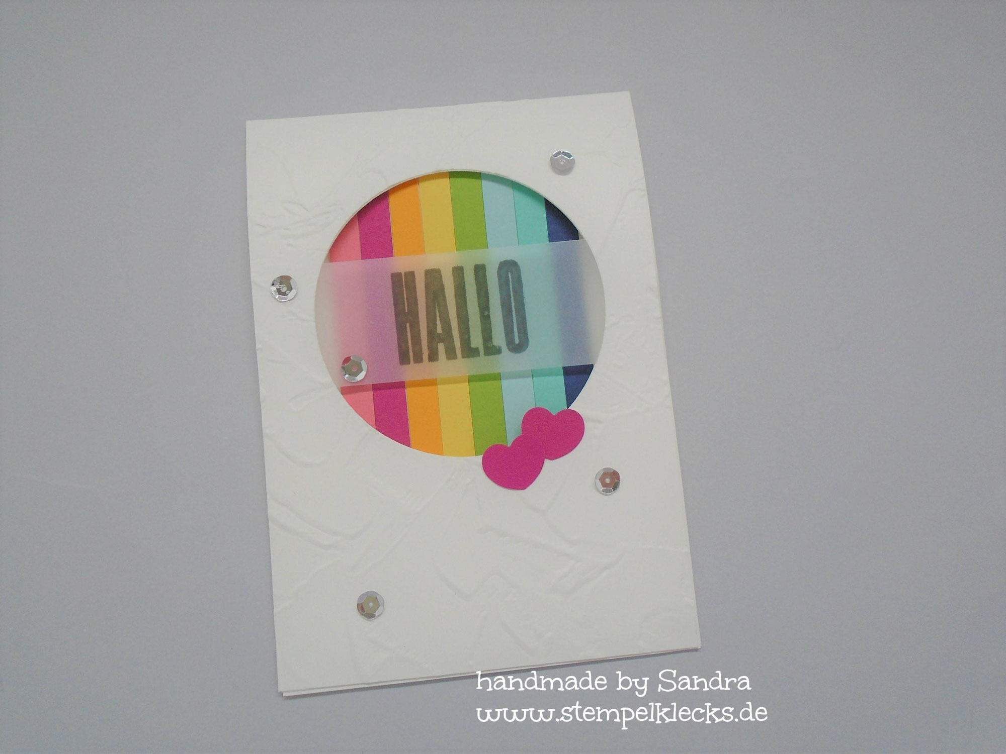 Open-and-Slide Surprise Card
