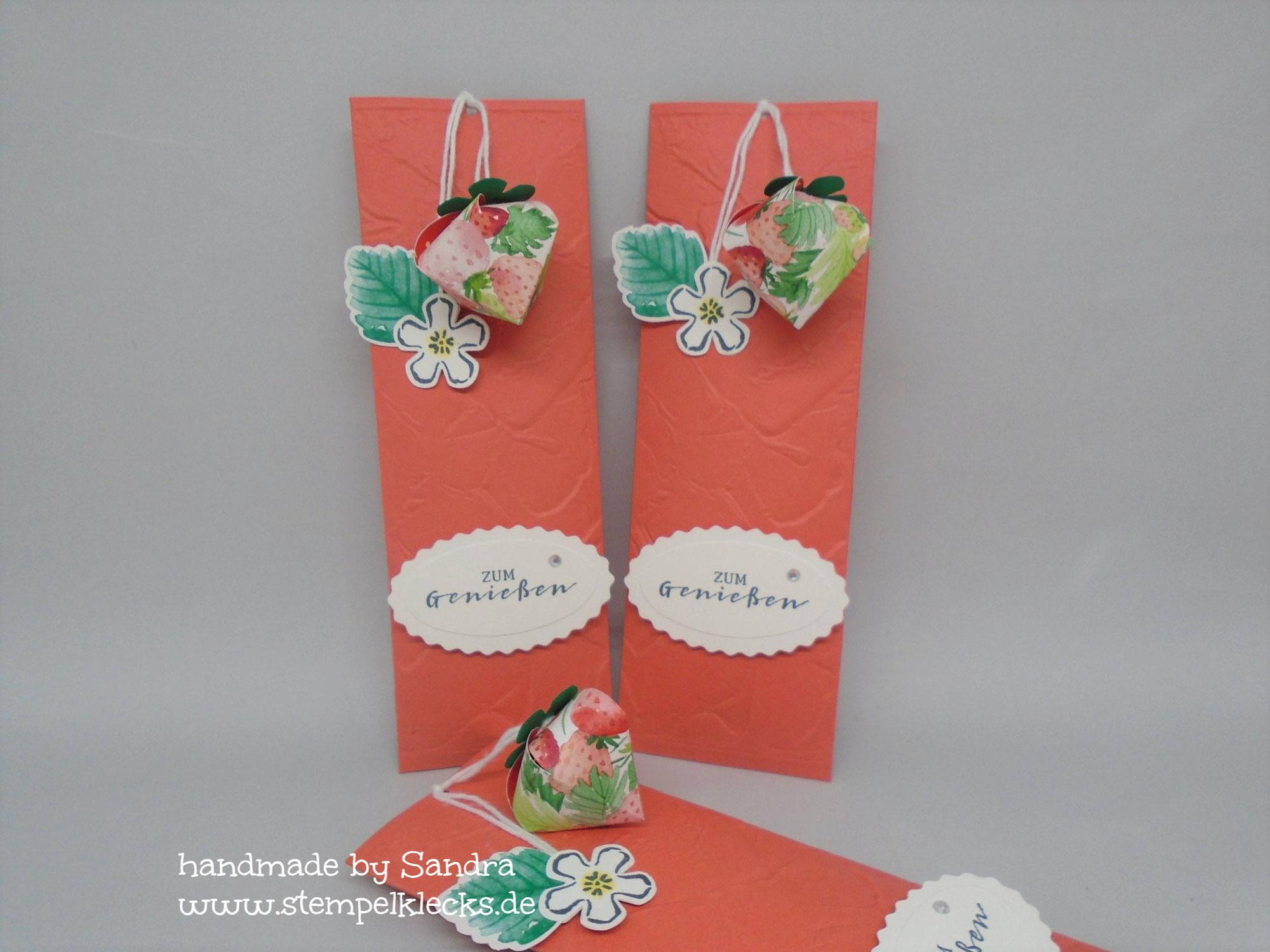 Erdbeer Glitzerlimo - Verpackung