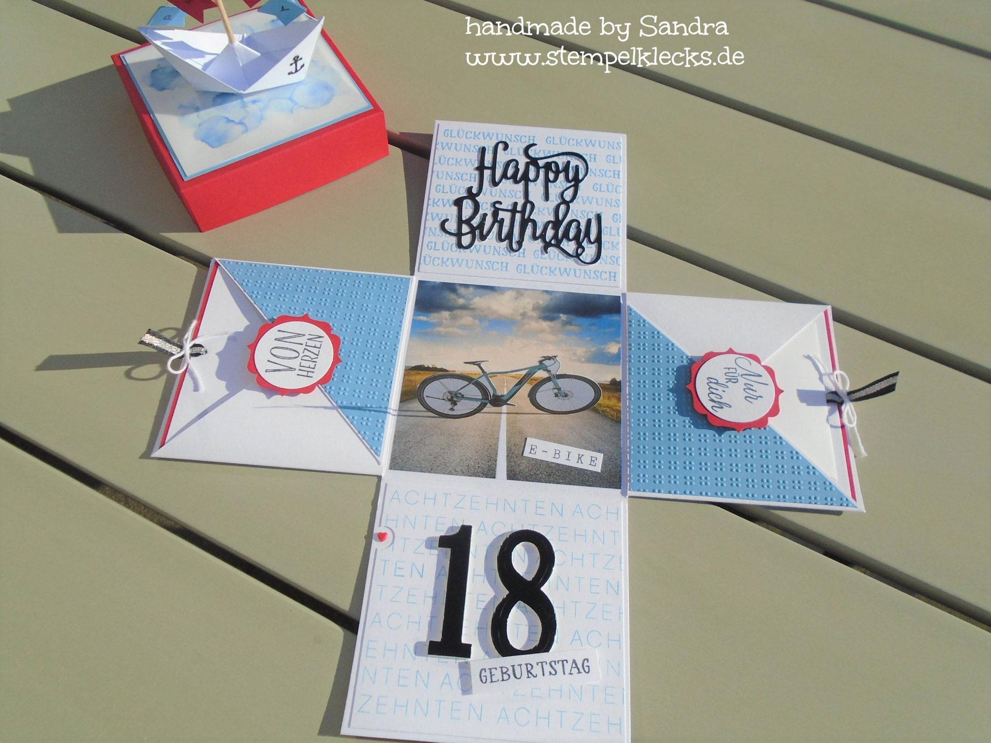 Party-Box zum 18. Geburtstag