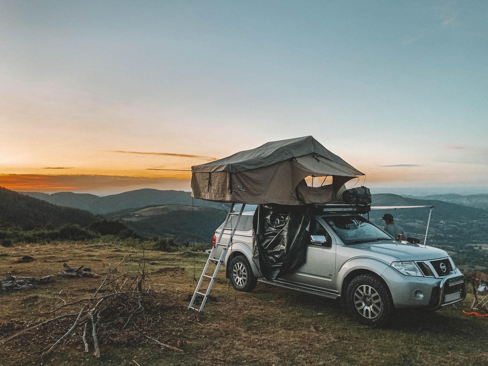 Comment trouver un chouette emplacement pour passer la nuit en tente de toit Horizon ?