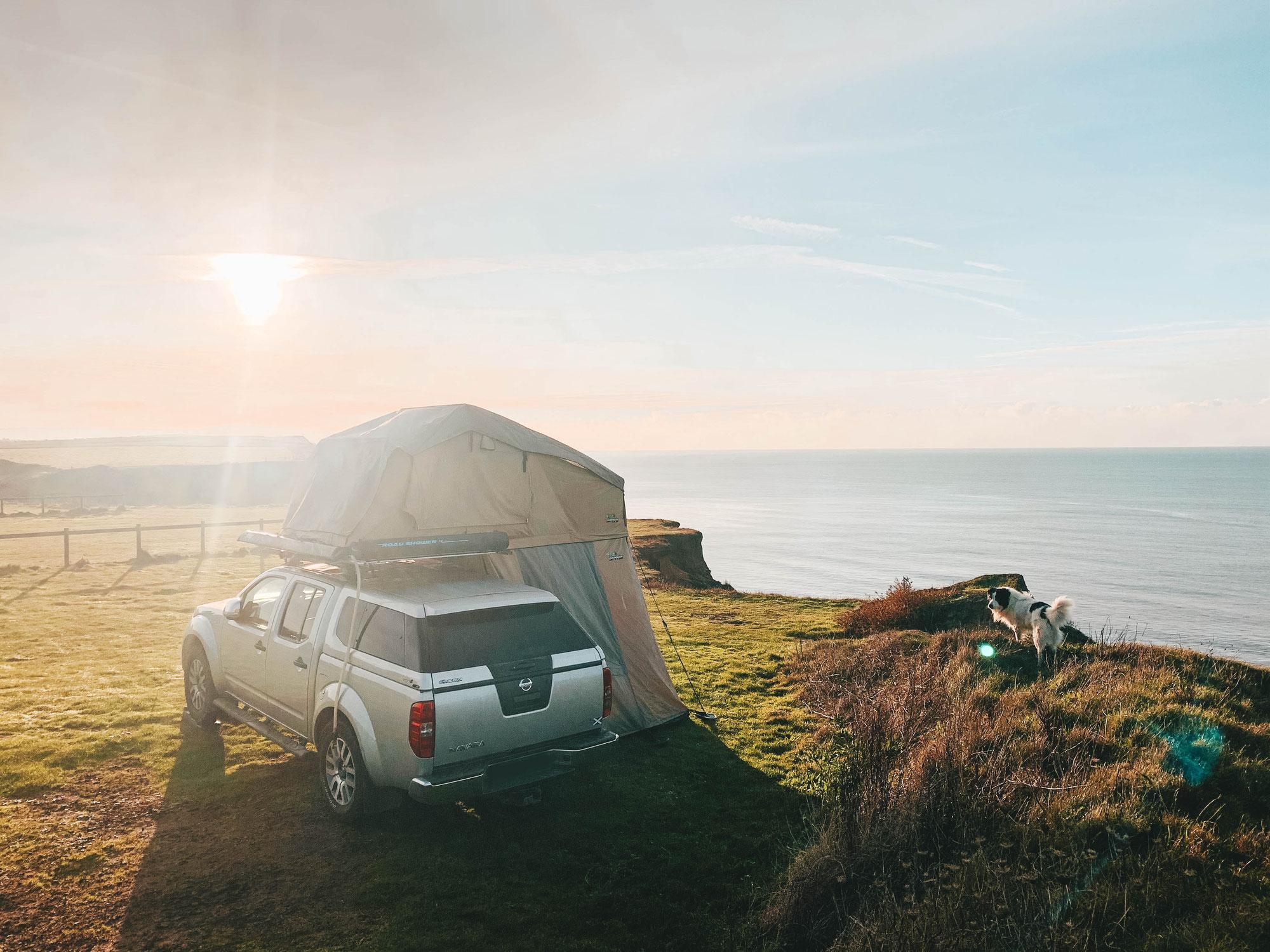 Présentation de la tente de toit portefeuille et son annexe