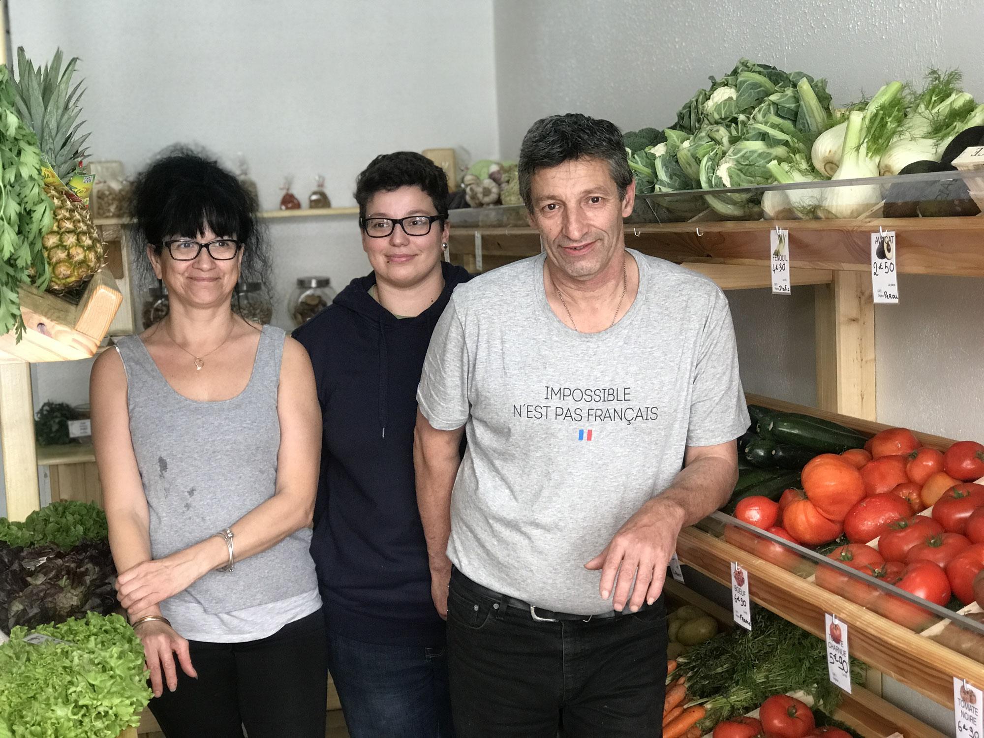 L'épicerie de fruits & légumes Labbé : Ouverte tous les matins !