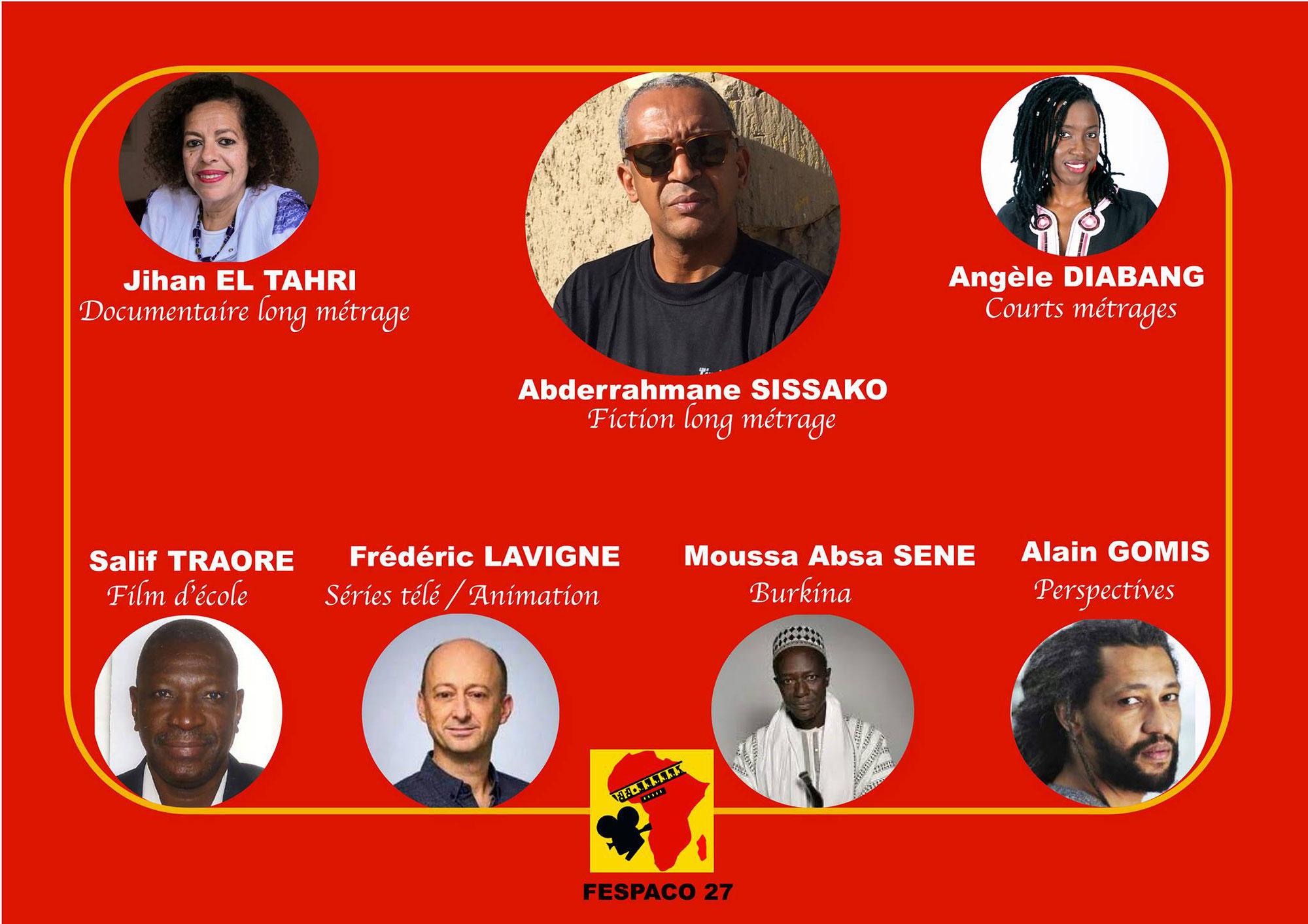 BURKINA FASO : 7 présidents de jurys pour la 27ème édition du FESPACO