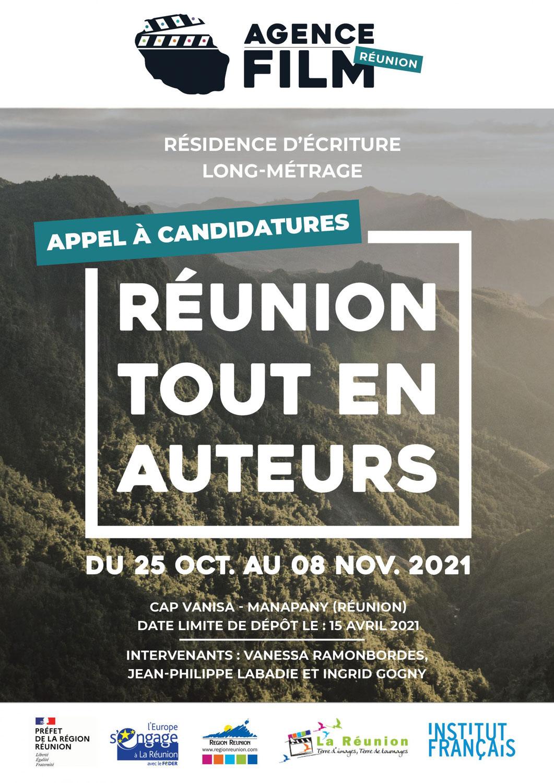 REUNION : Appel à candidature, Réunion tout en auteurs