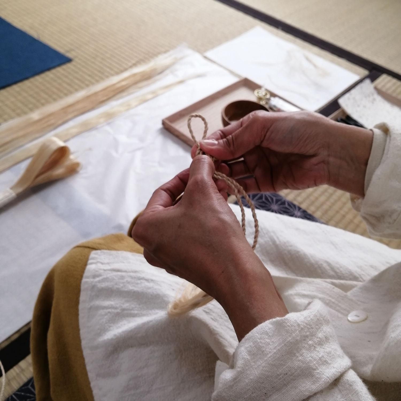 大麻飾り職人養成講座 神戸市北区鈴蘭台 7月開講のお知らせ