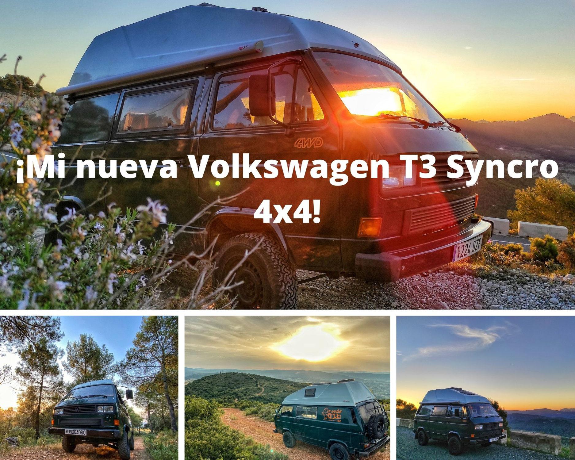 ¡Estreno nueva furgo! Mi Volkswagen T3 Syncro 4x4