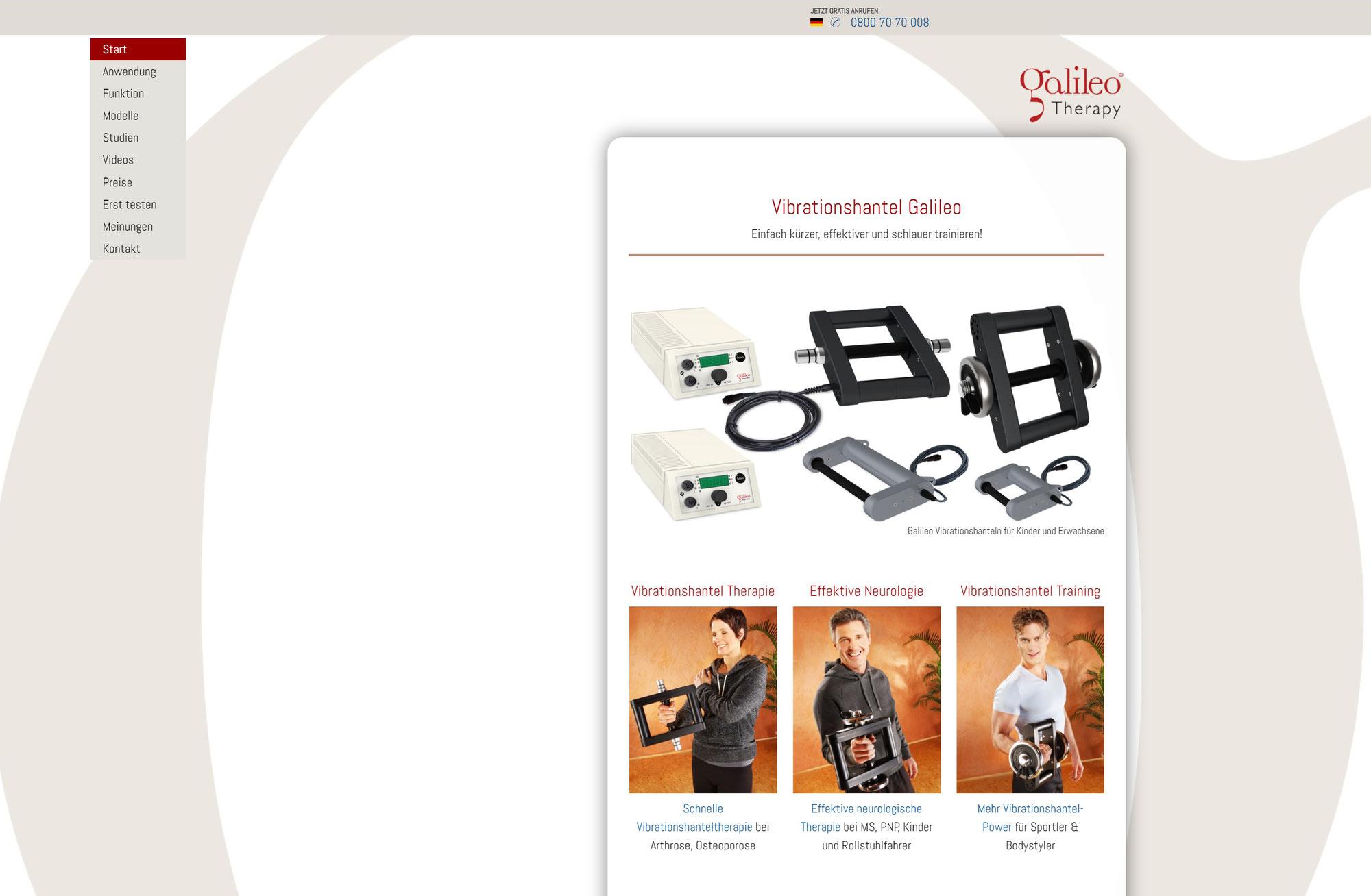 Neue Website www.vhantel.de
