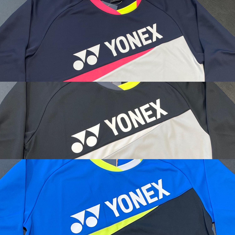 YONEX.数量限定.ライトトレーナー(31043)♪