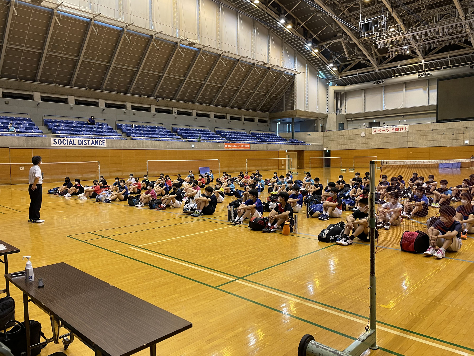千葉県中学生バドミントン強化練習会♪
