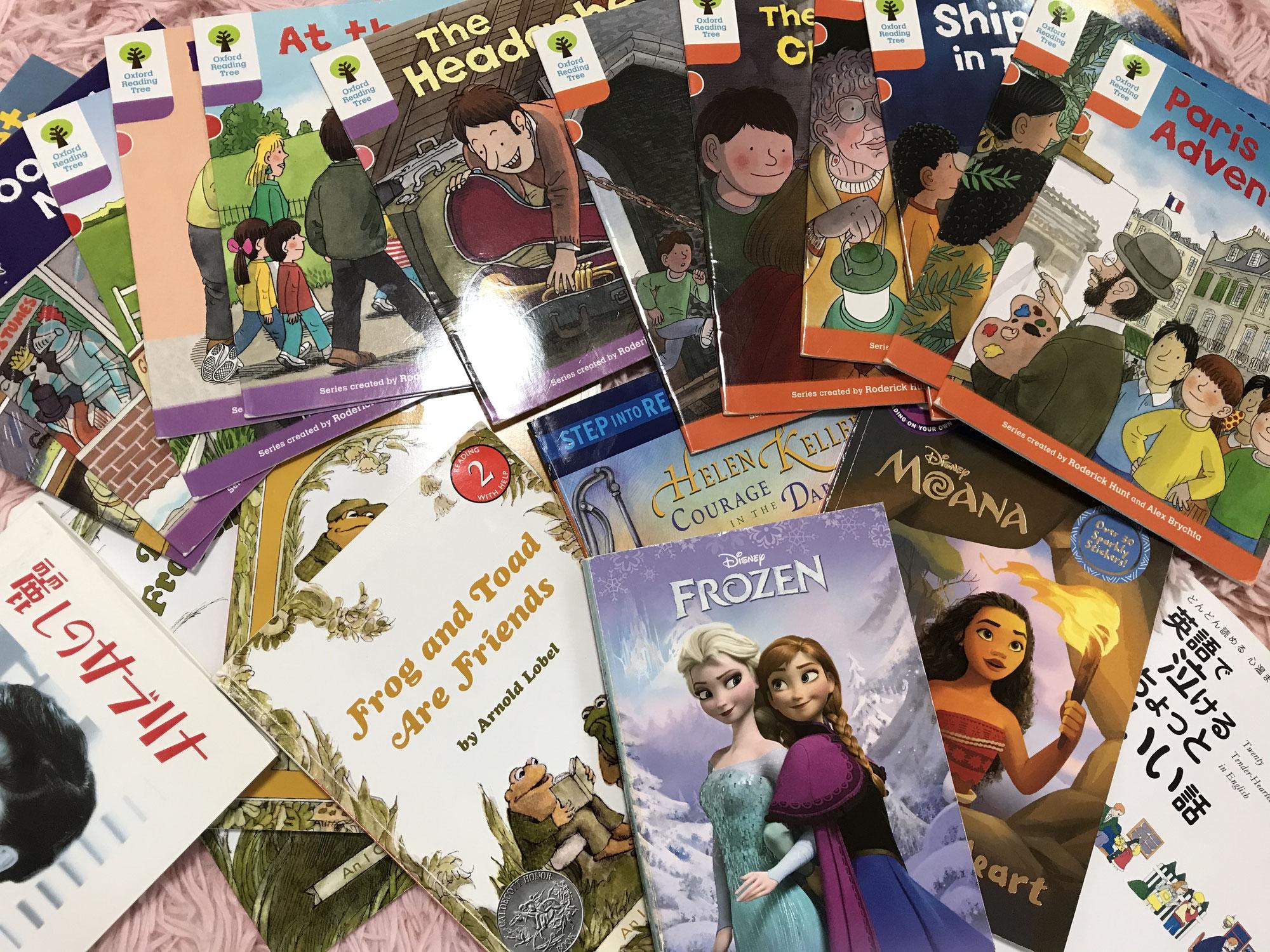小学生から英語の本をリーディングすることで、自信に繋がってきます☆