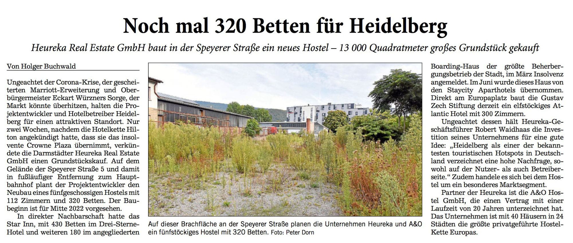 """Noch mal 320 Betten für Heidelberg"" - GEHTS NOCH ?"