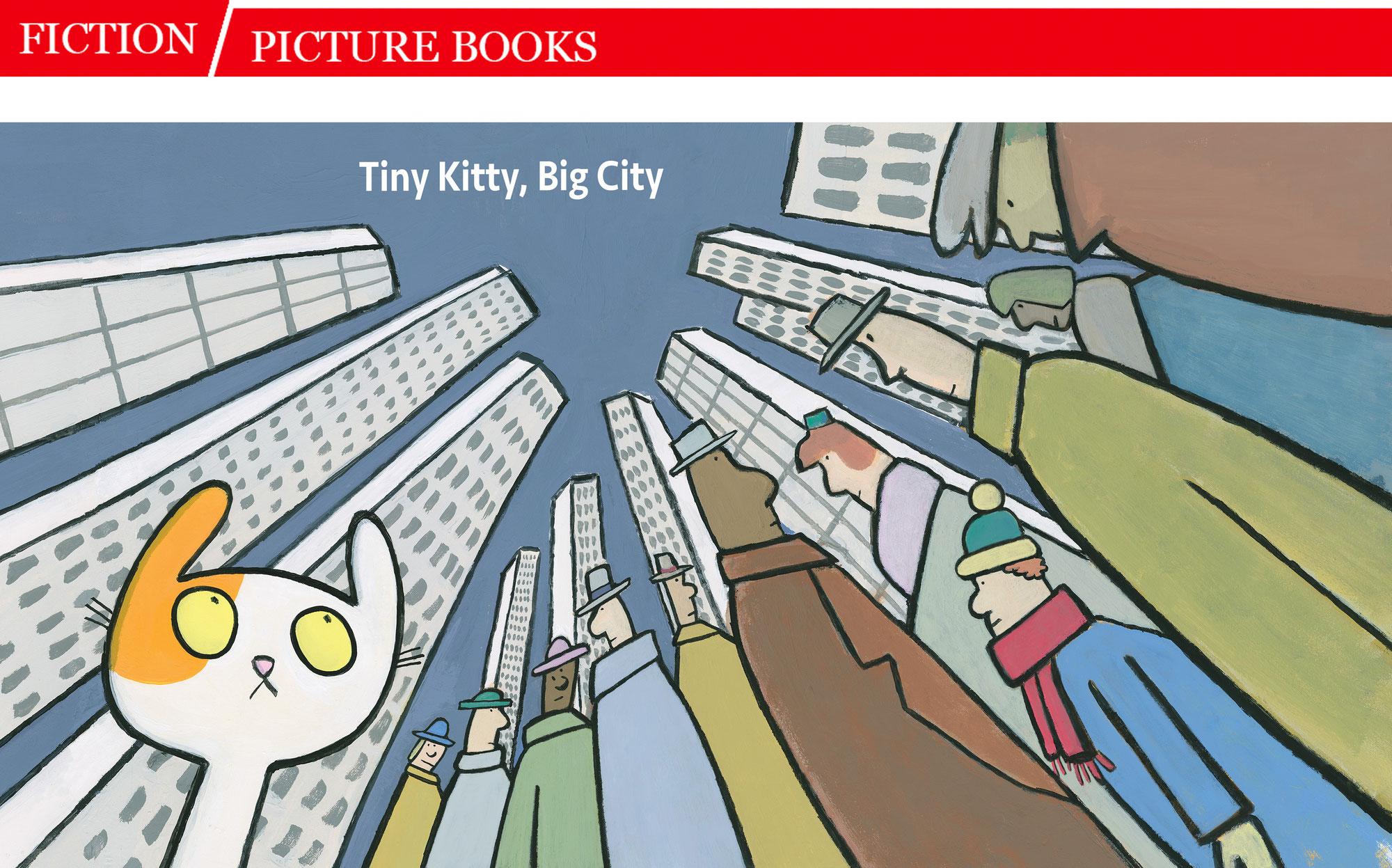 Tiny Kitty, Big City SLJ Review