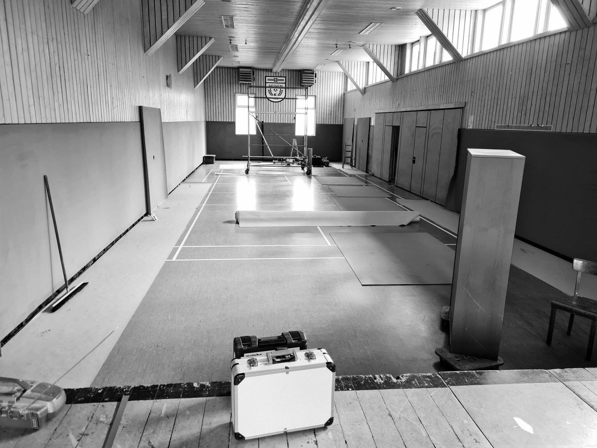 Moderne Sportstätte 2022 - Wir sind auf einem guten Weg!
