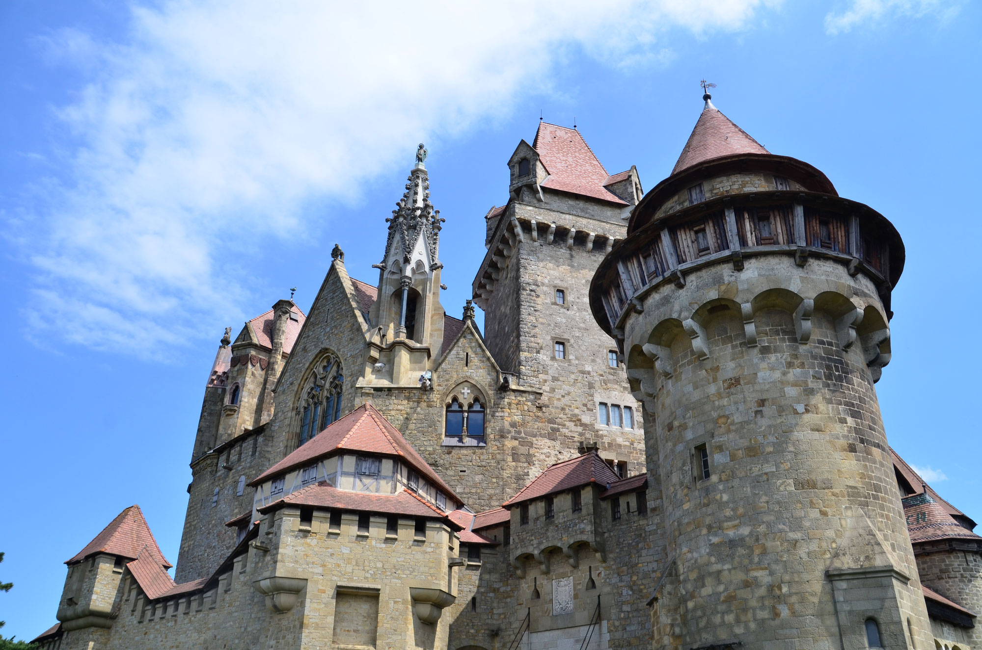 NÖ / Burg Kreuzenstein