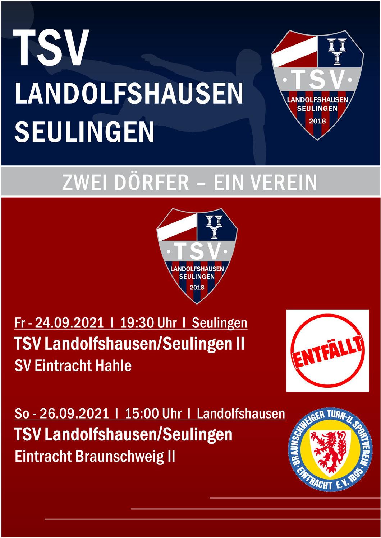 Eintracht Braunschweig II zu Gast in Landolfshausen!