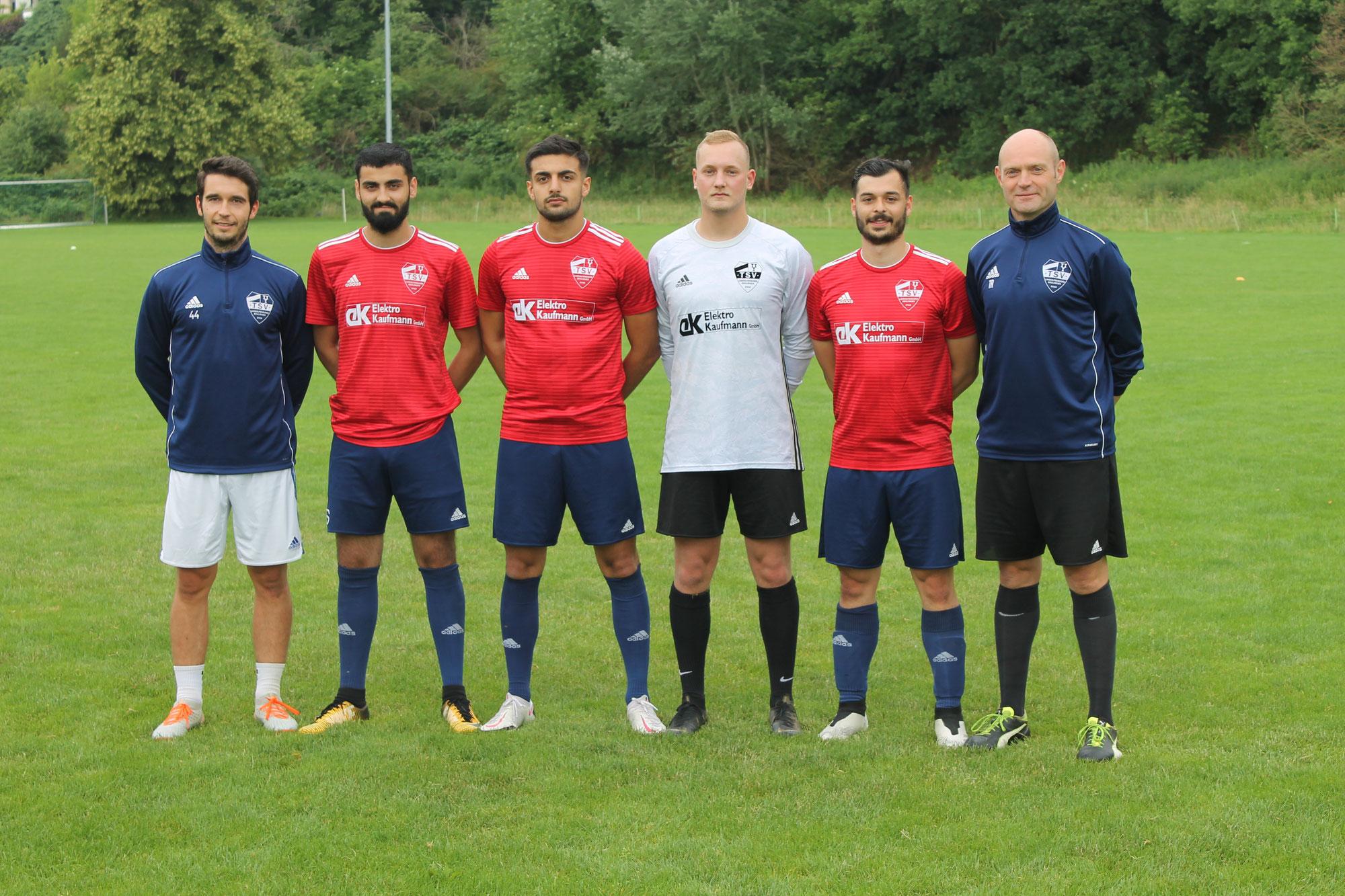 Herzlich willkommen beim TSV - Landesligavertretung stellt Neuzugänge vor