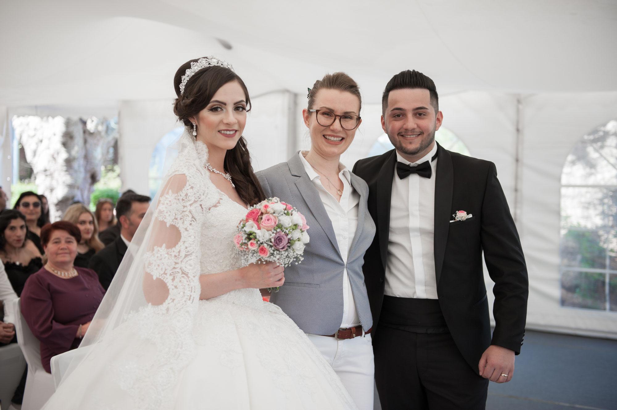 Eine italienisch-türkische Hochzeit in Heidelberg - und ich als Traurednerin mittendrin! Die freie Trauung von Alessia und Fuat im Moods in Heidelberg