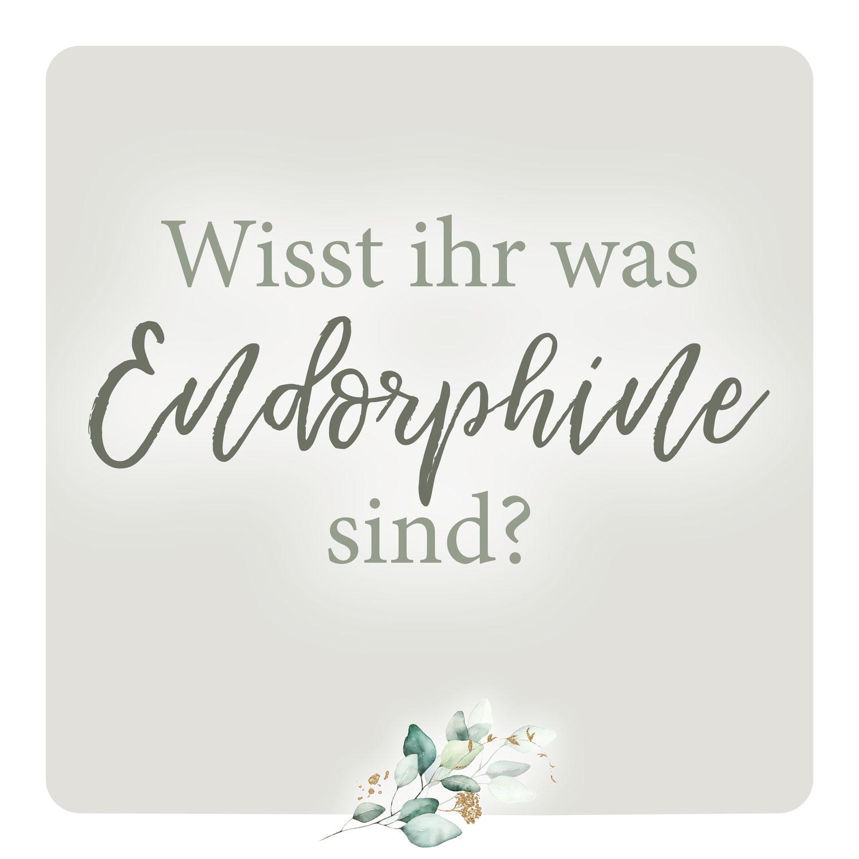Was sind Endorphine?