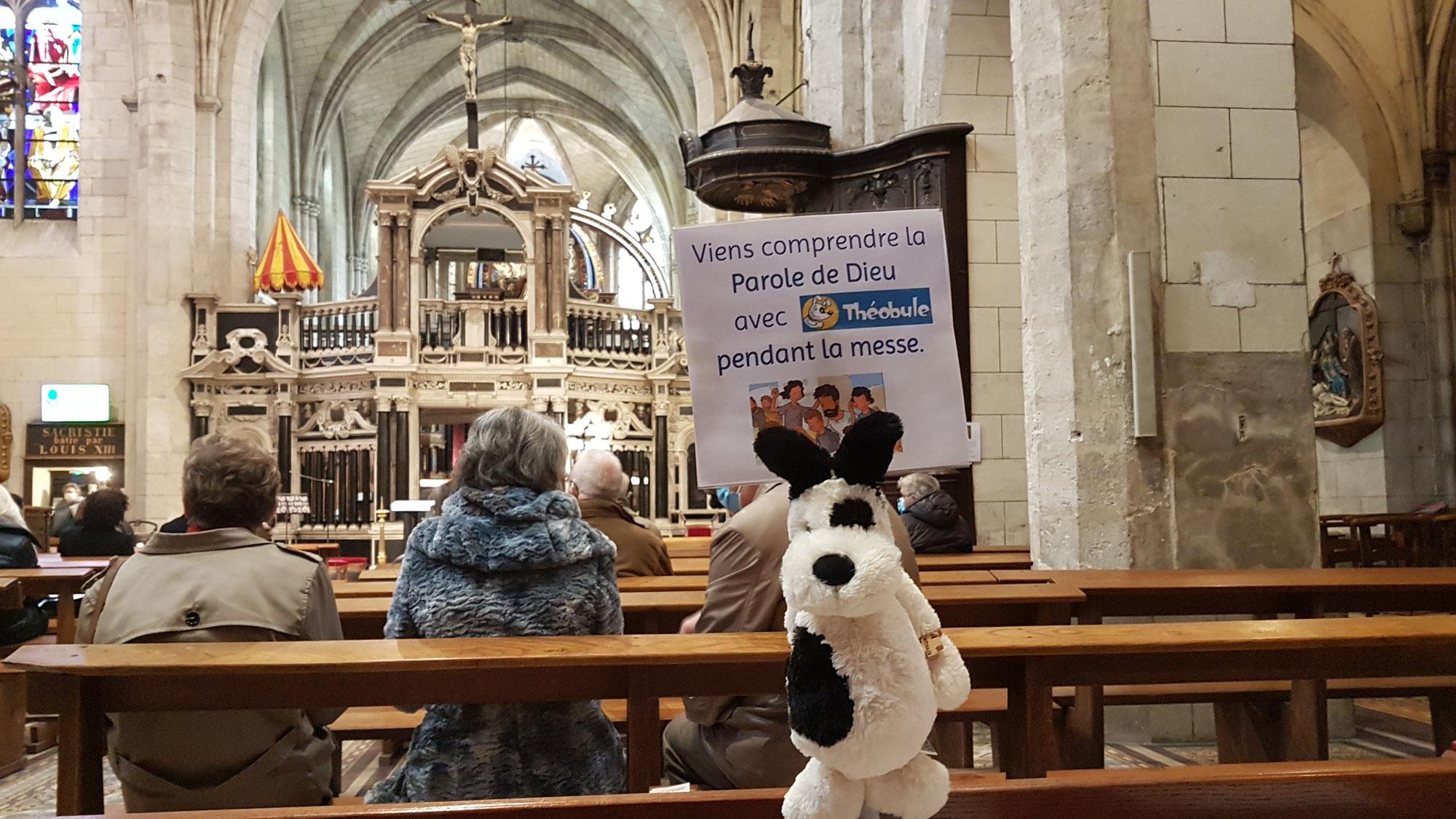 NOUVEAU : un temps adapté aux enfants pendant la messe dominicale à Liesse