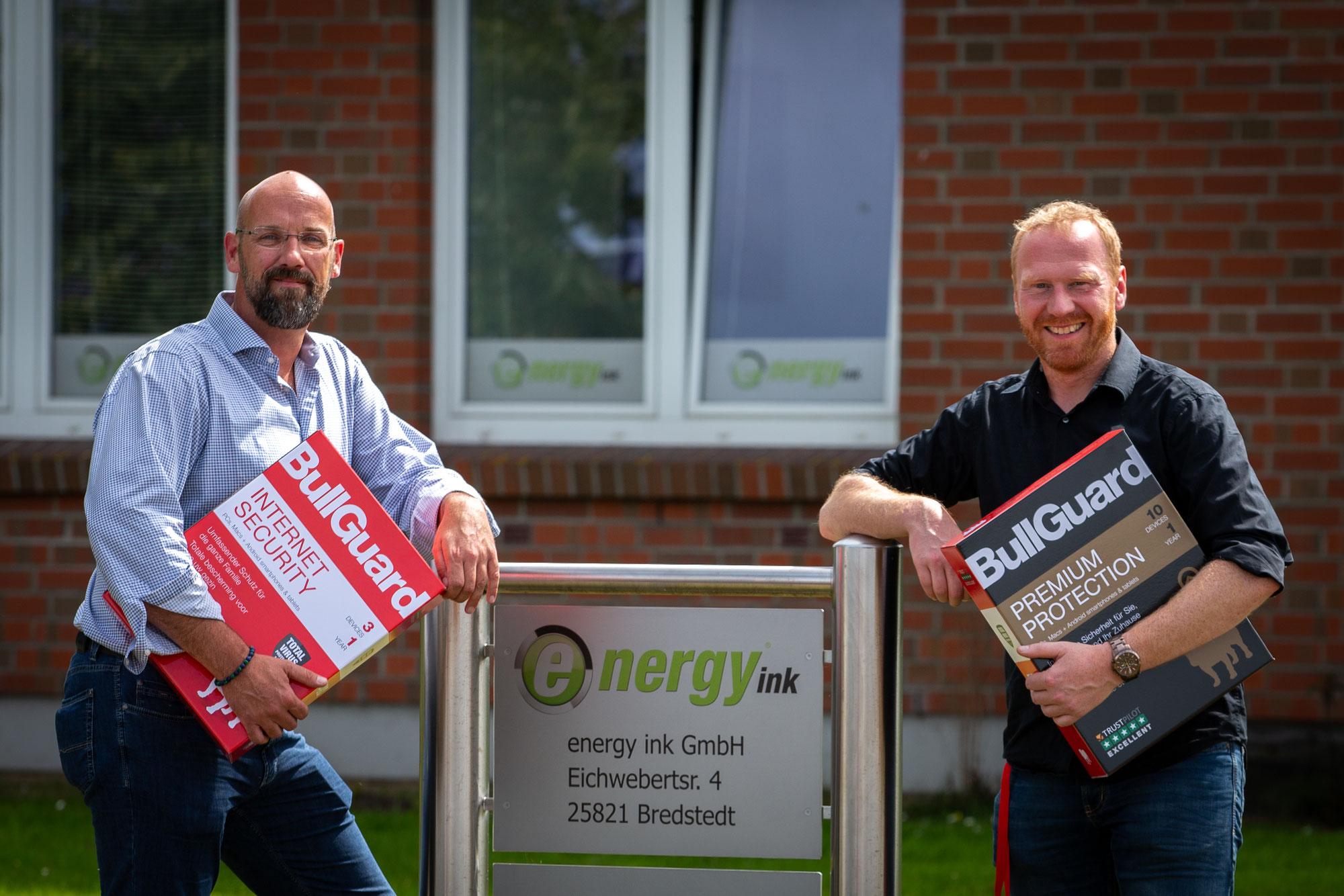 energy ink wird BullGuard Partner