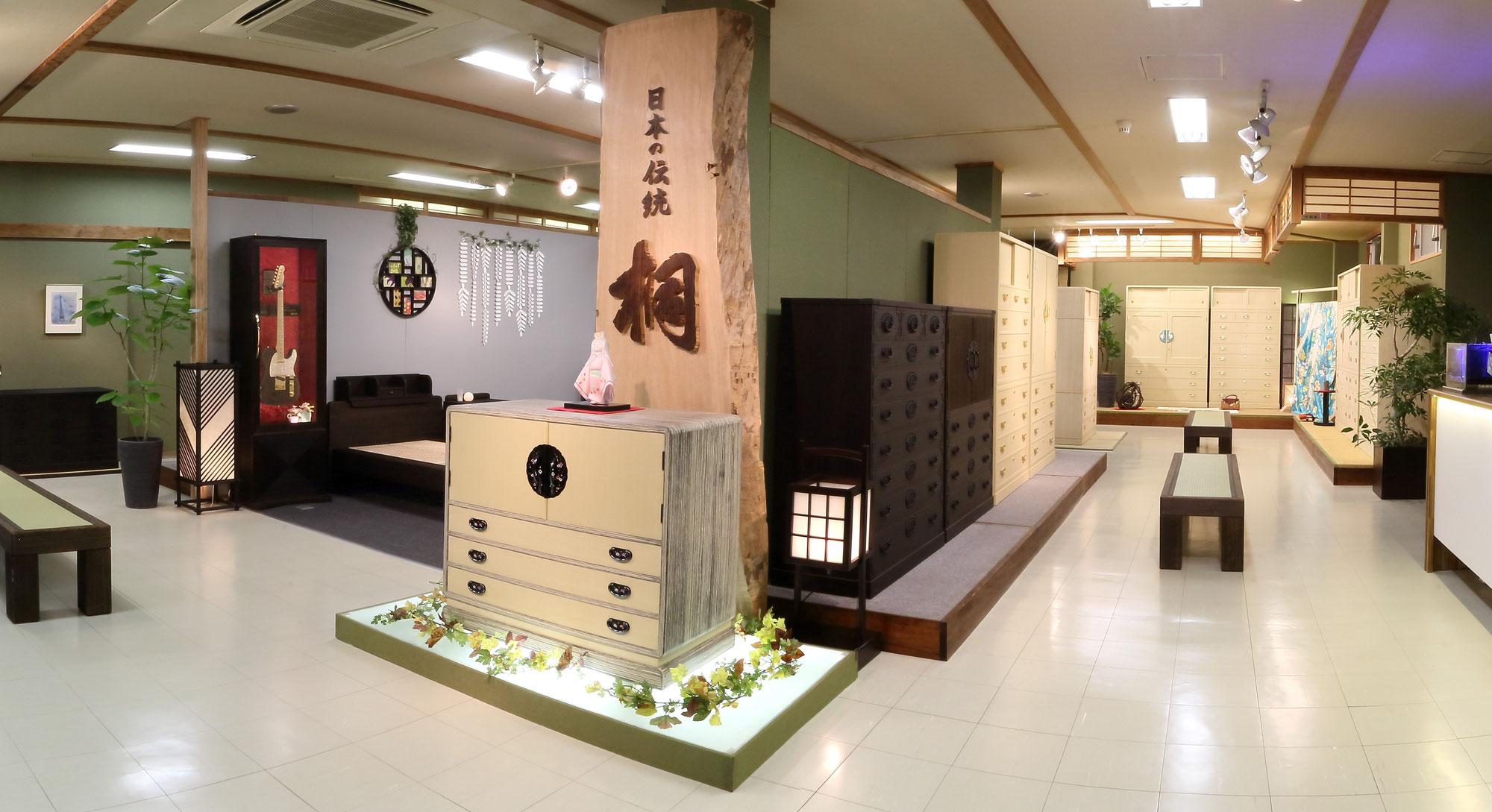 九州屈指の桐たんすメーカーの特別展示会『総桐箪笥和光展』を開催致します。