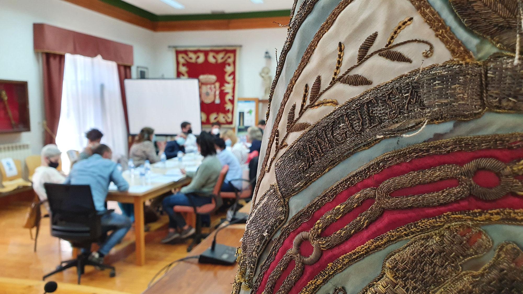 Se constituye una mesa de trabajo para organizar la celebración de los 900 años de la fundación de Sangüesa en 2022