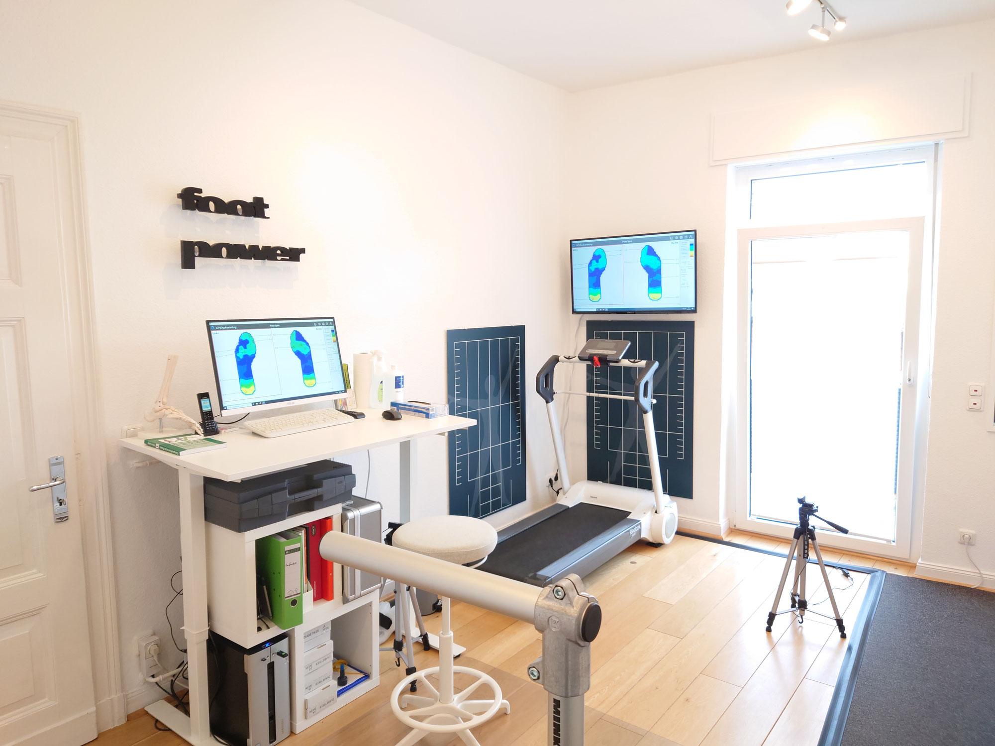 Neue Räume für die Lauf- und Bewegungsanalyse