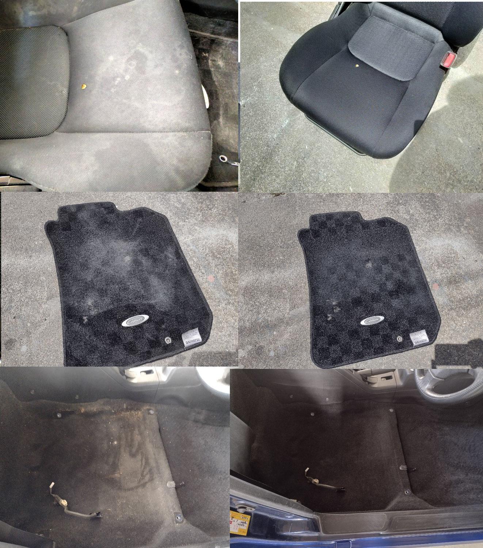 コペン ガチで車内清掃