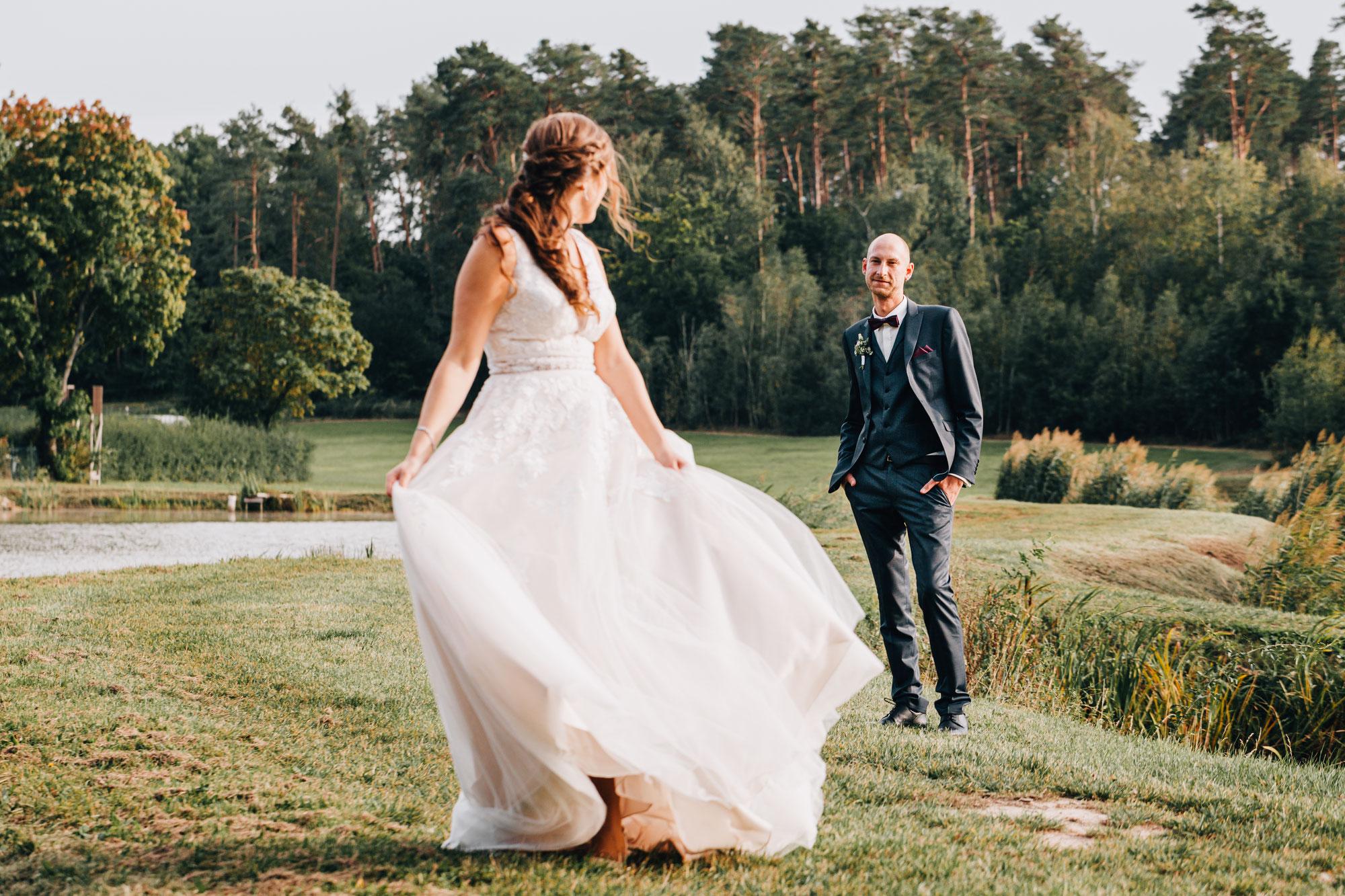 Rebecca & Markus - Standesamtliche Trauung im Schloss Hemhofen