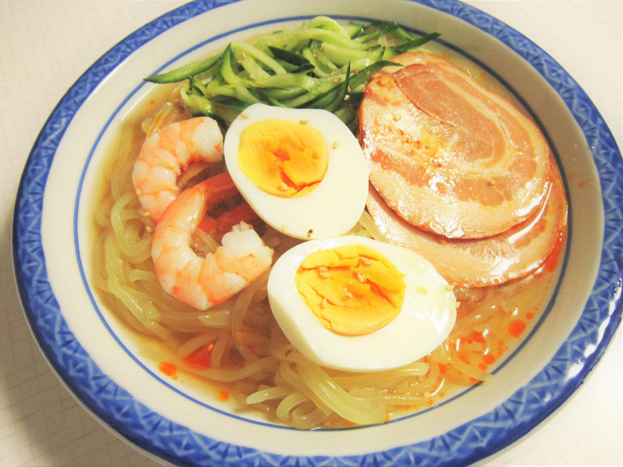 毎日冷麺 43日目 広島の風!呉冷麺