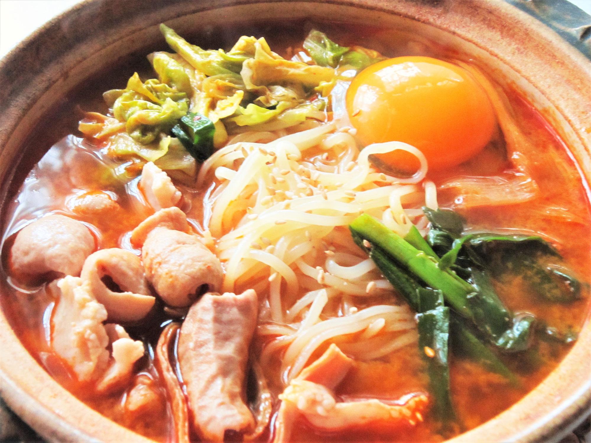 毎日冷麺 34日目 ホルモン温麺