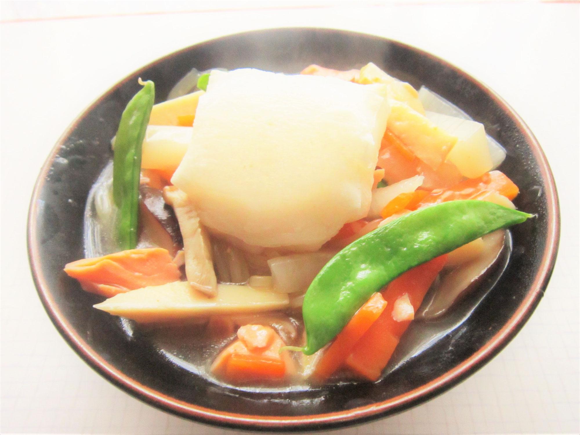 毎日冷麺 31日目 新潟仕込み!のっぺ温麺