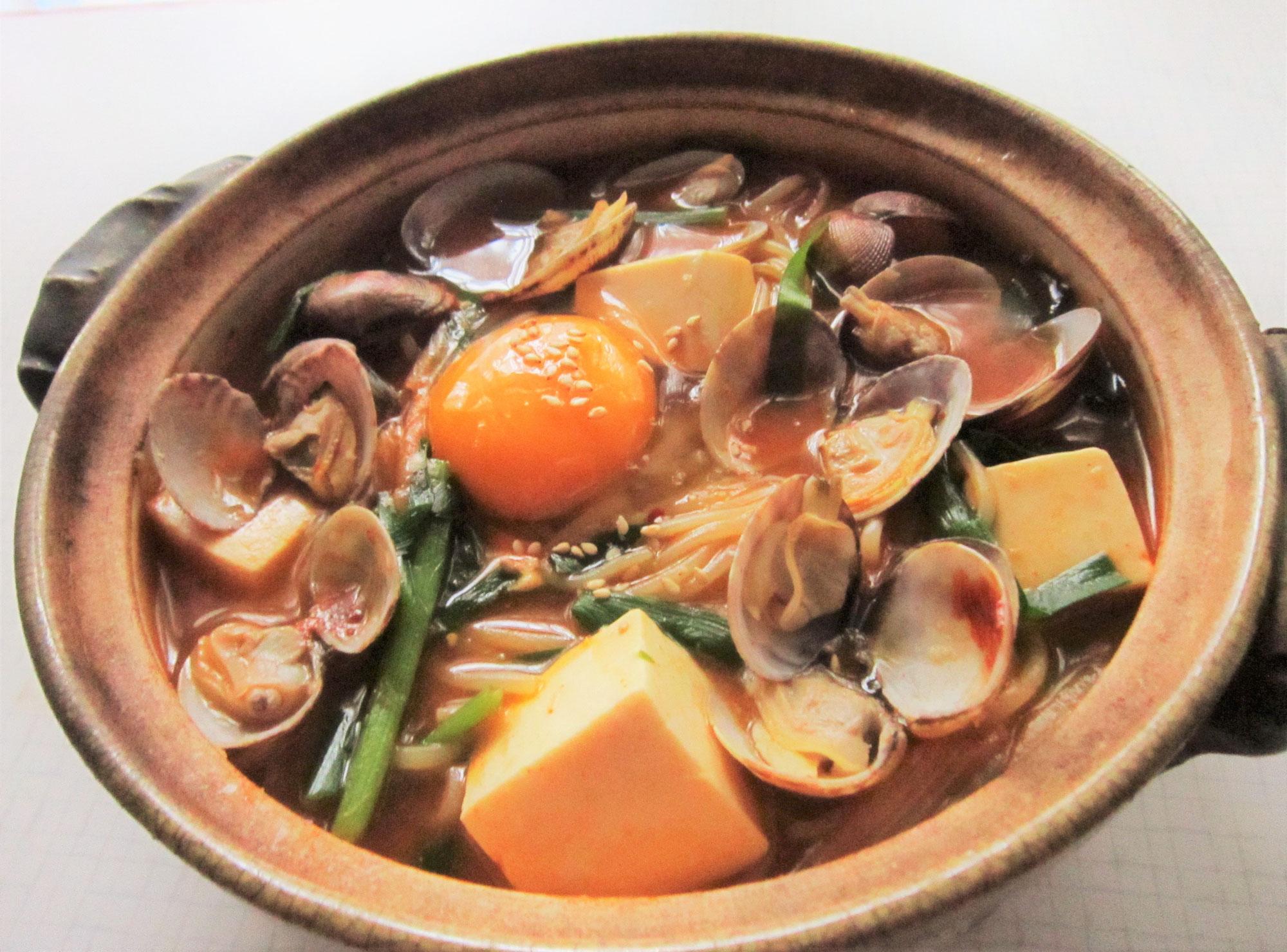 毎日冷麺 32日目 スンドゥブ温麺