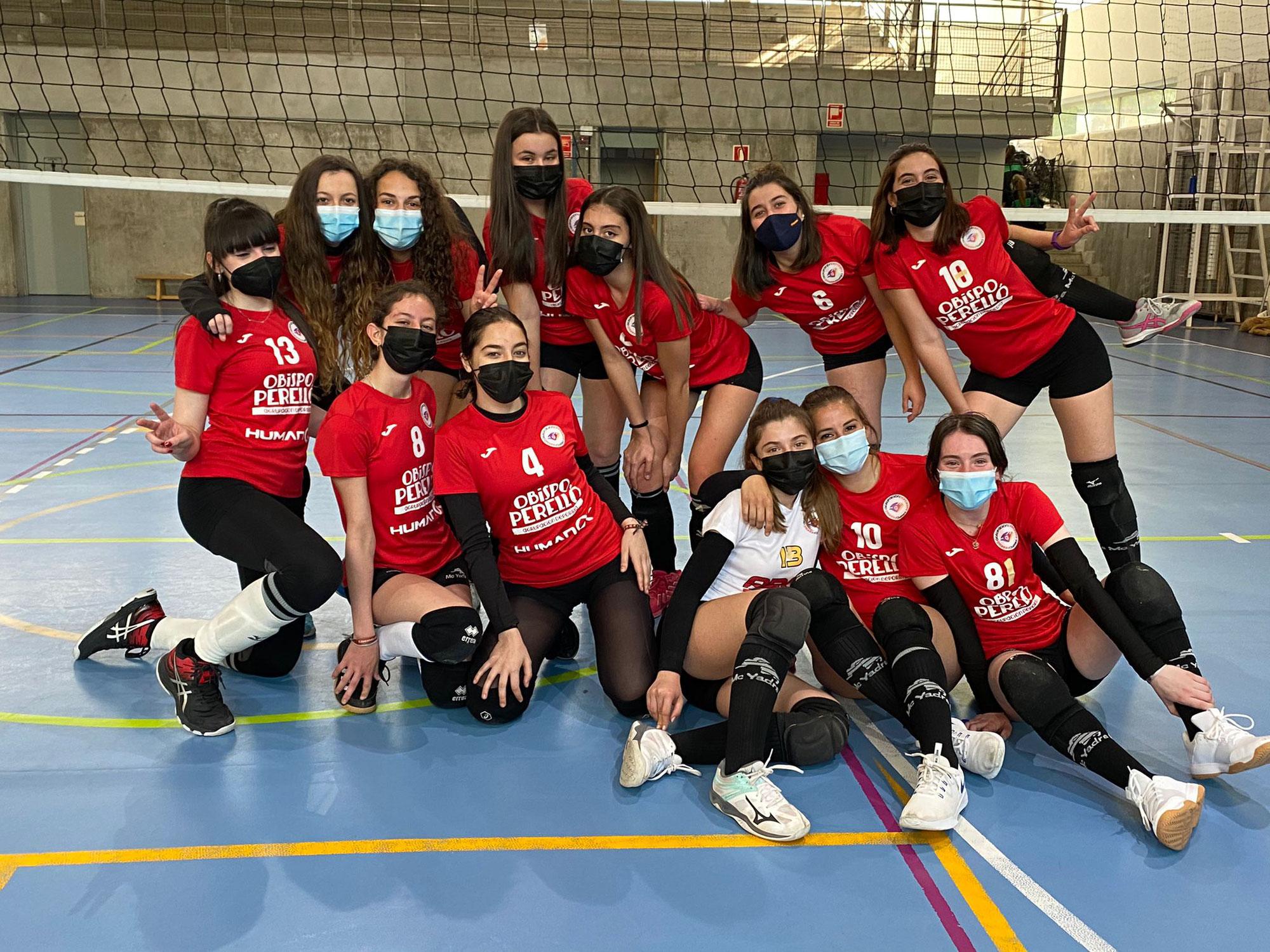 Campeonas de liga Senior Voleibol 2020-2021