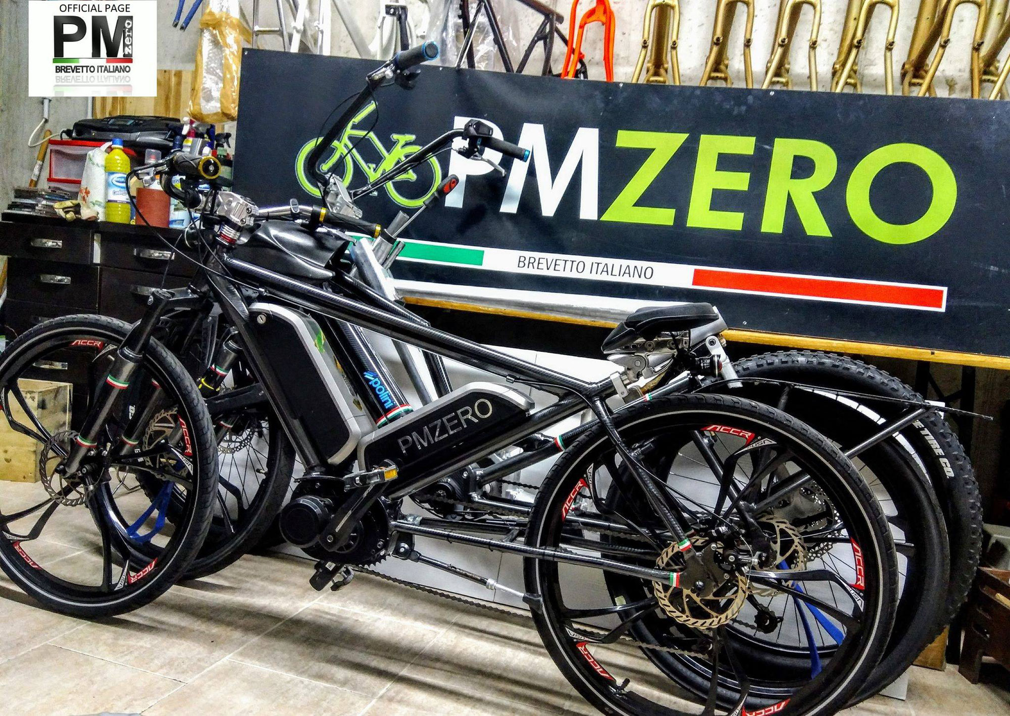 Bici elettrica Pmzero NUDA, la prima wellness bike al mondo, ora in pronta consegna.