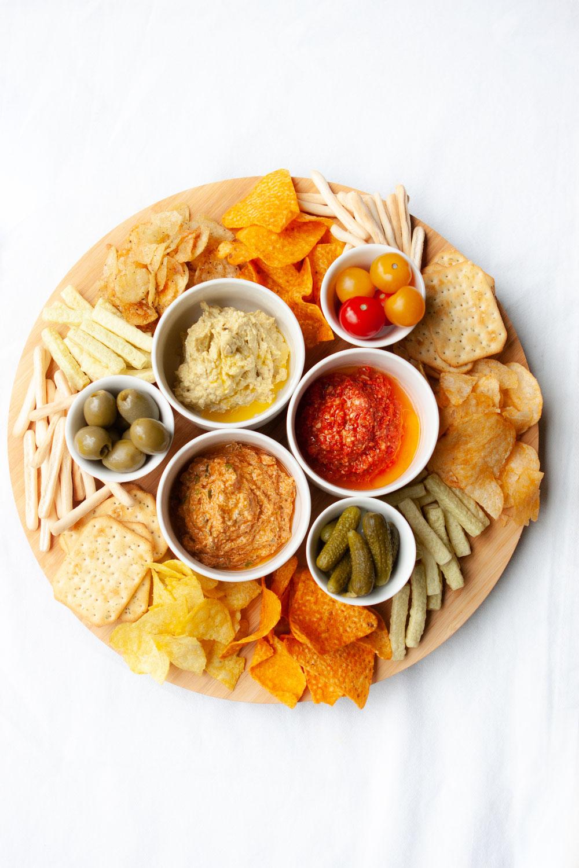 Dips voor bij de chips