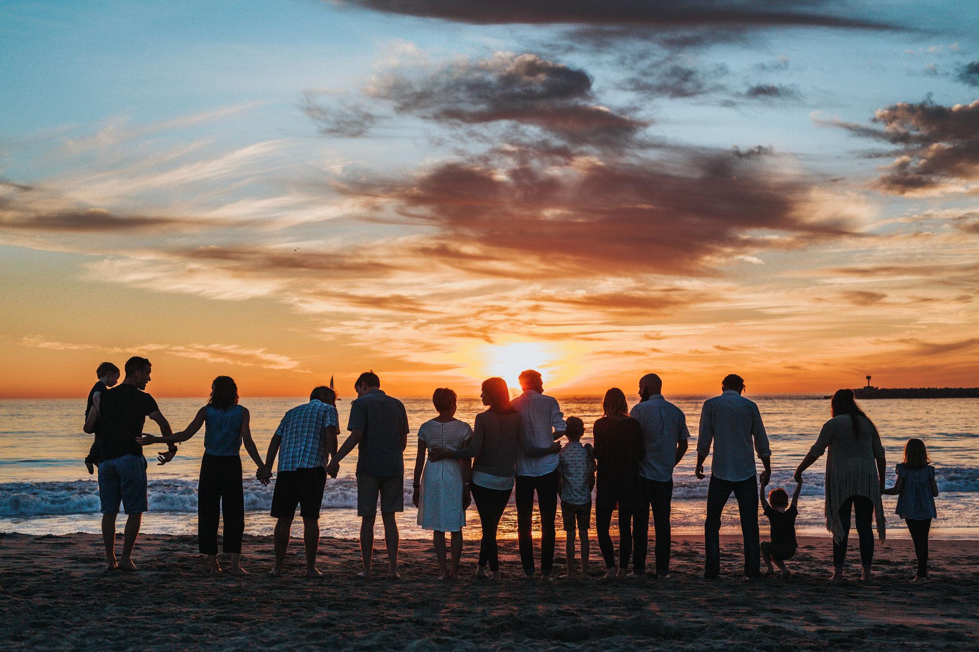 Das Drumherum: Familie, Freunde und andere Katastrophen
