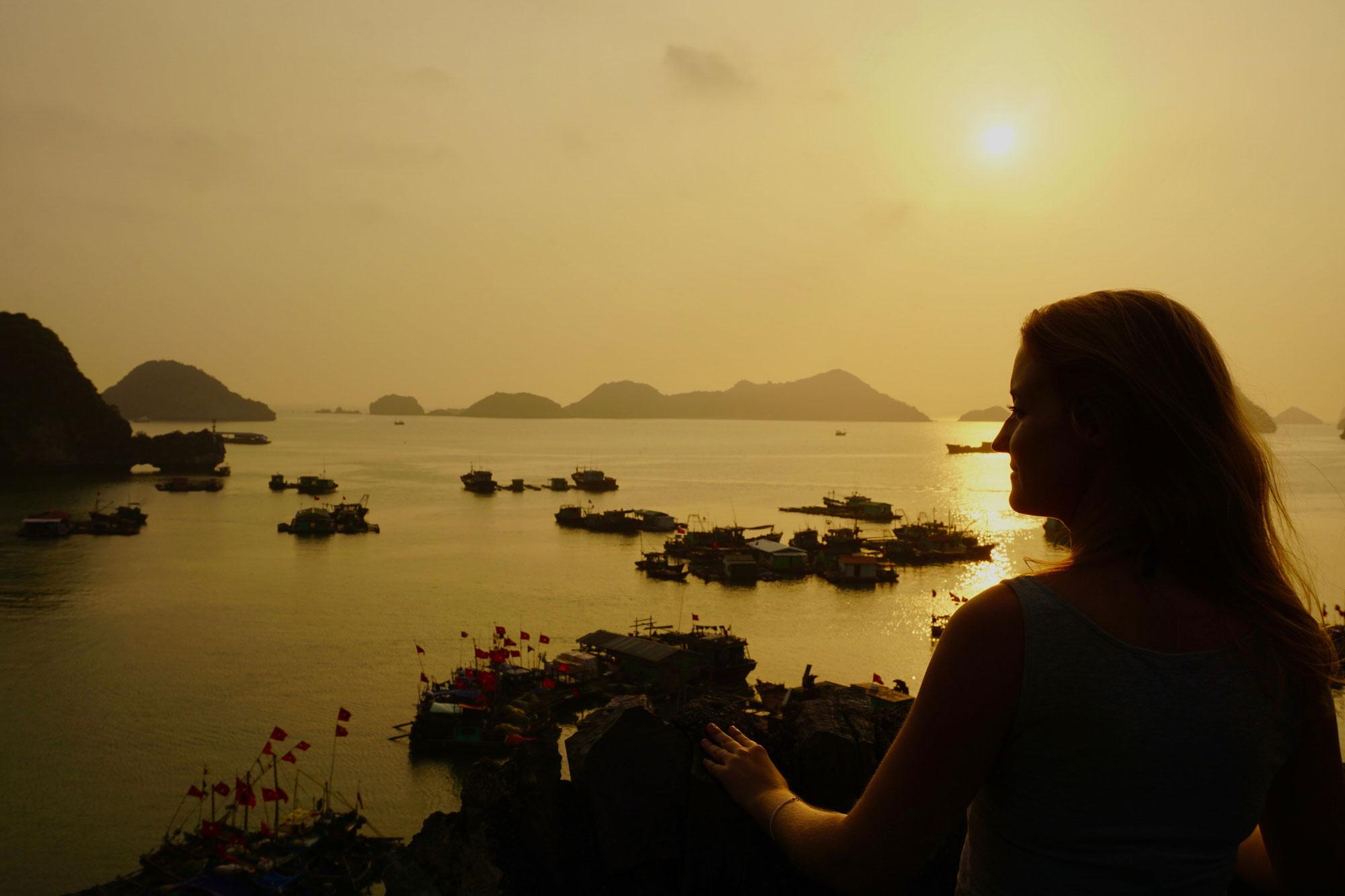 Von Cat Ba in die Halong Bucht / Tipps Cat Ba (Vietnam)