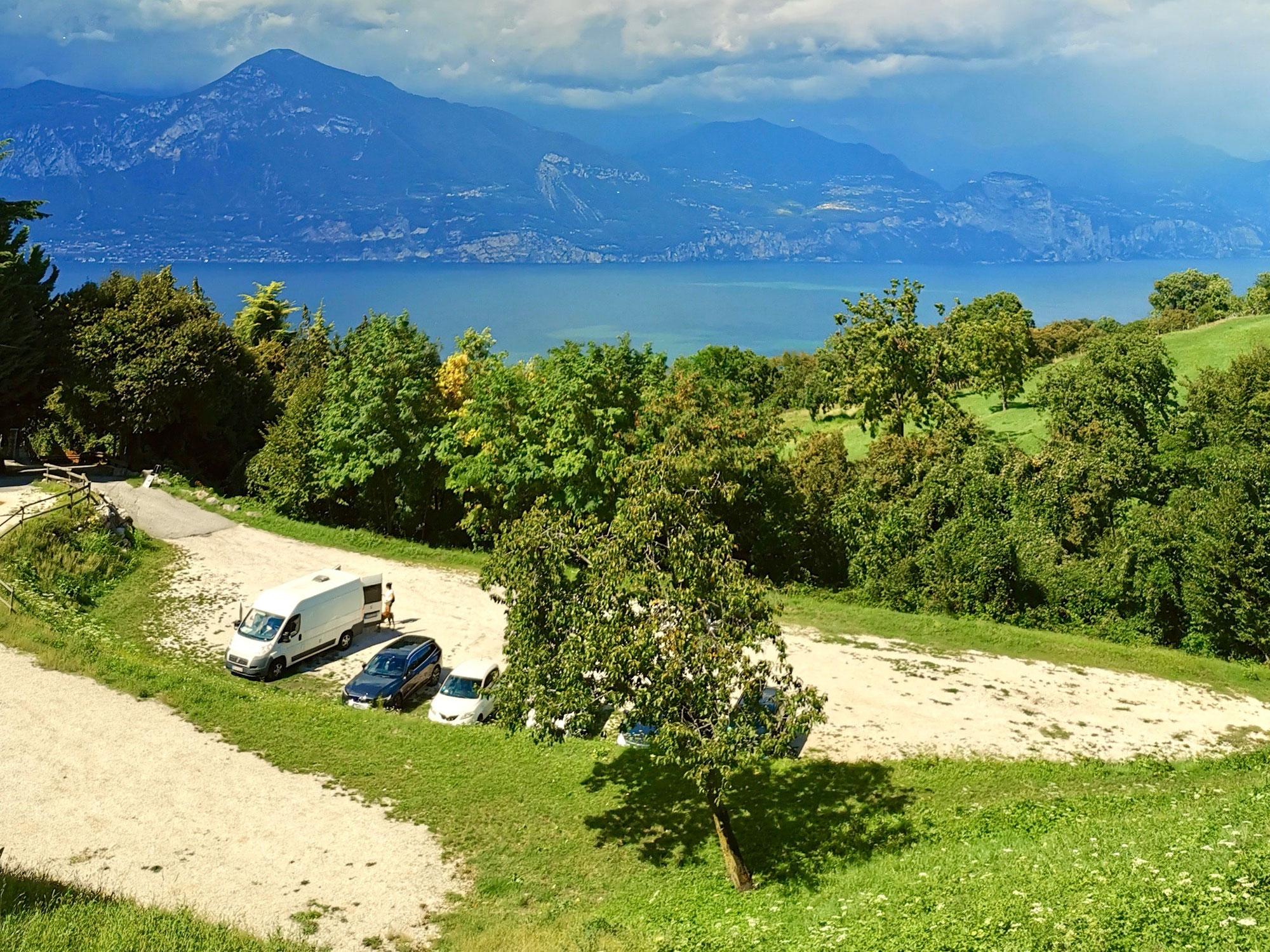 Freistehen mit dem Wohnmobil am Gardasee - geht das überhaupt?