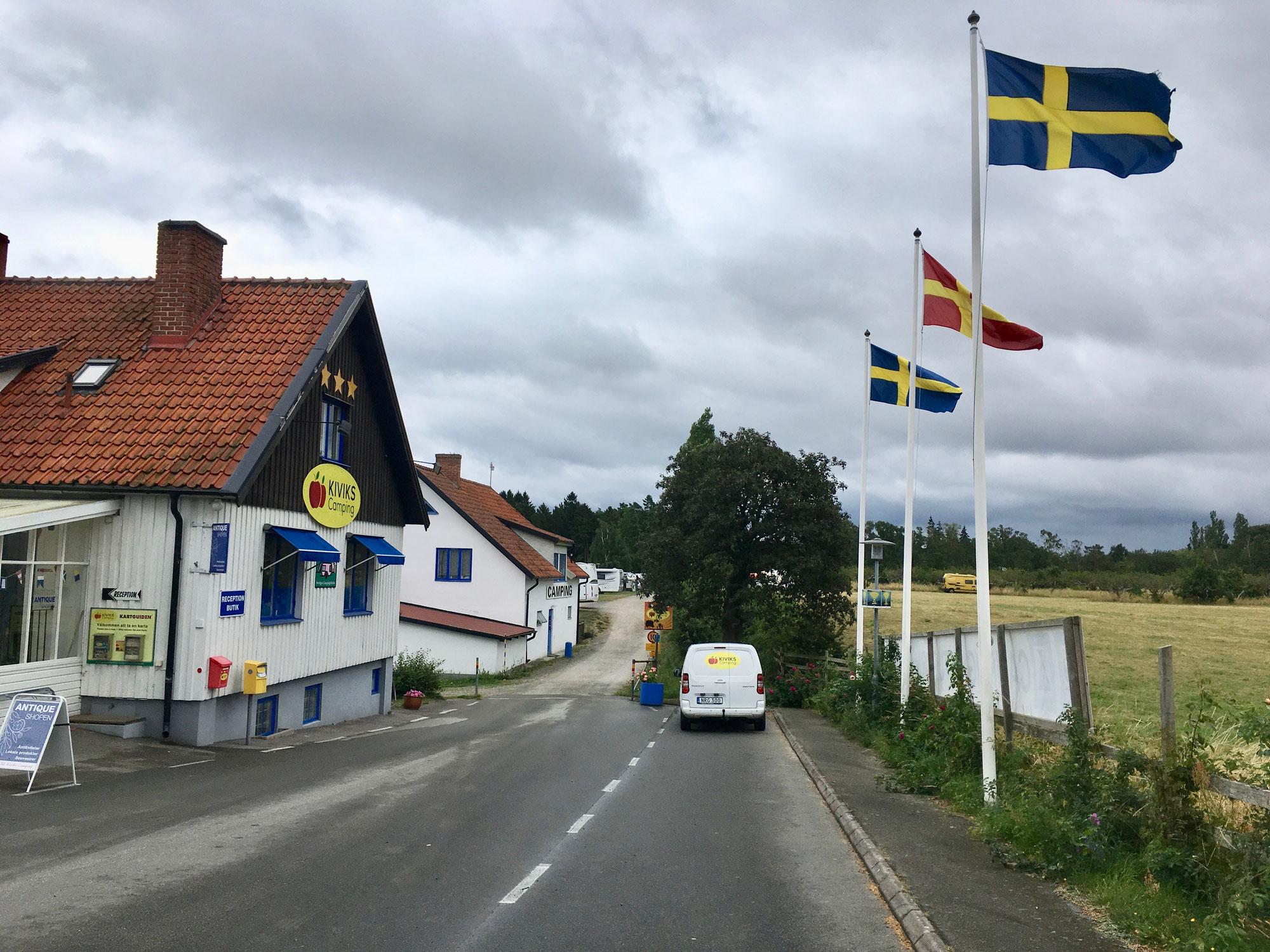 Schweden mit dem Wohnwagen Teil 2 - Österlen