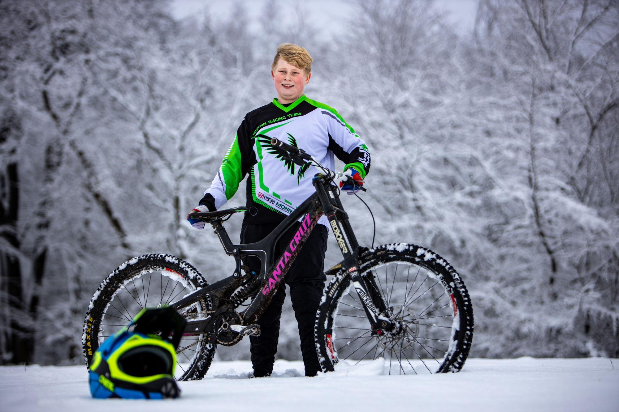 MTB im Schnee