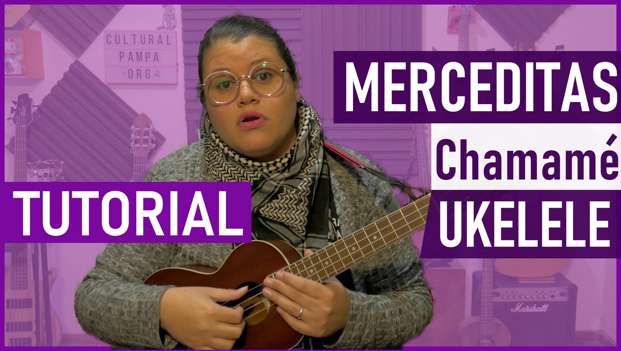 Como tocar Merceditas en Ukelele (Chamame)   Tutorial