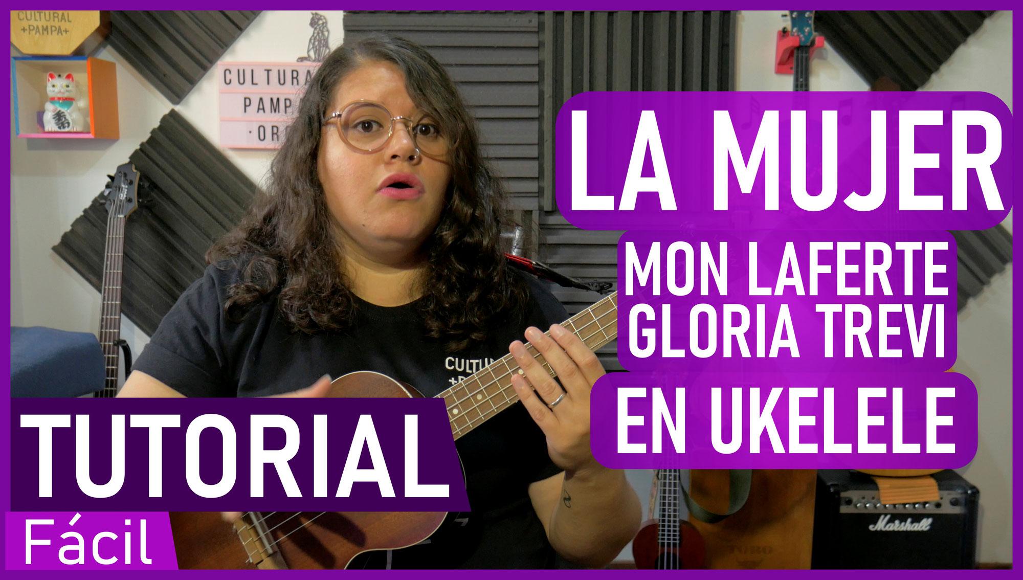 Como tocar La Mujer - Mon Laferte, Gloria Trevi