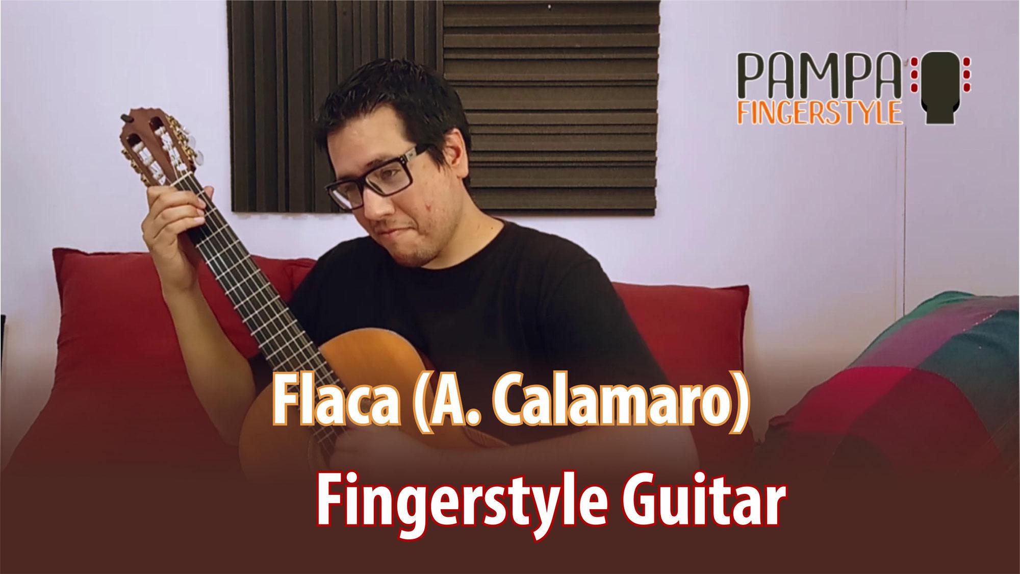 Flaca (Andrés Calamaro) | Guitarra FINGERSTYLE